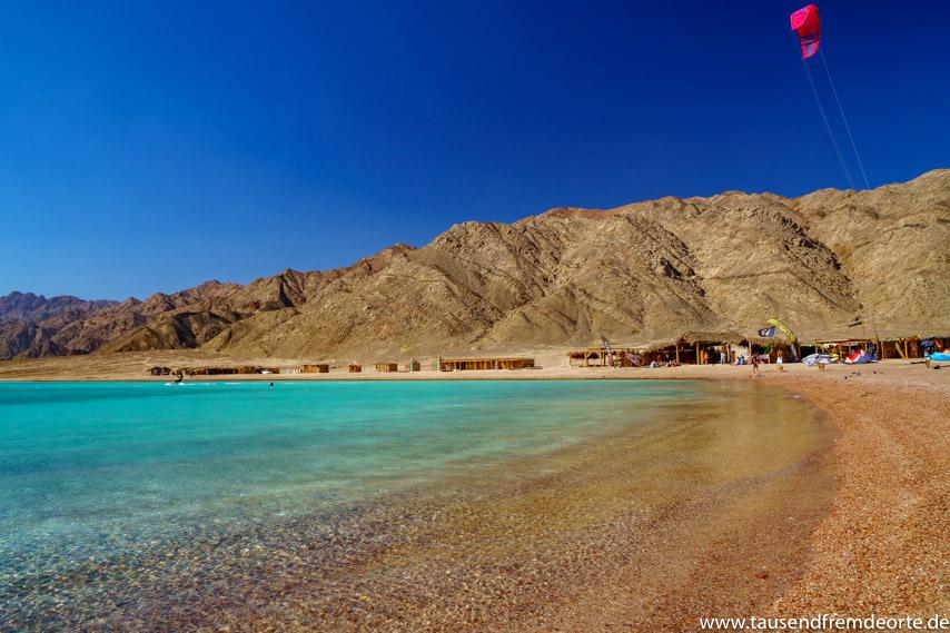 Blaue Lagune bei Dahab in Ägypten