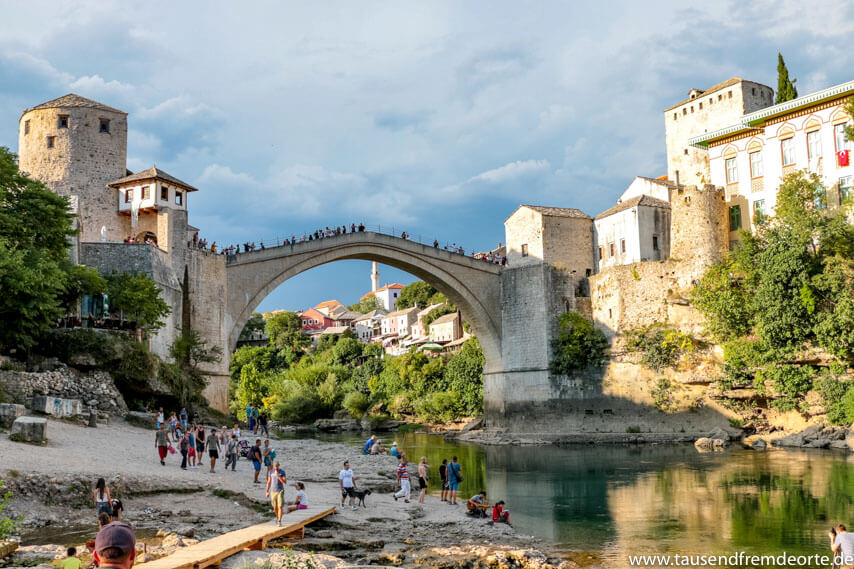 Brücke Stari Most in Mostar