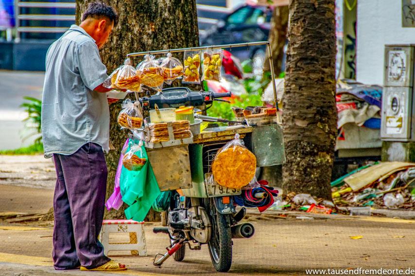 Streetfood Essen Saigon