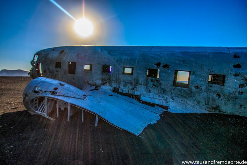 Karte Island Flugzeugwrack.Das Flugzeugwrack In Island