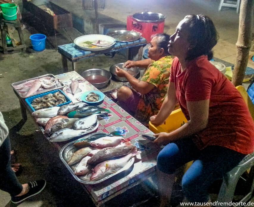 Karimunjawa Fischmarkt