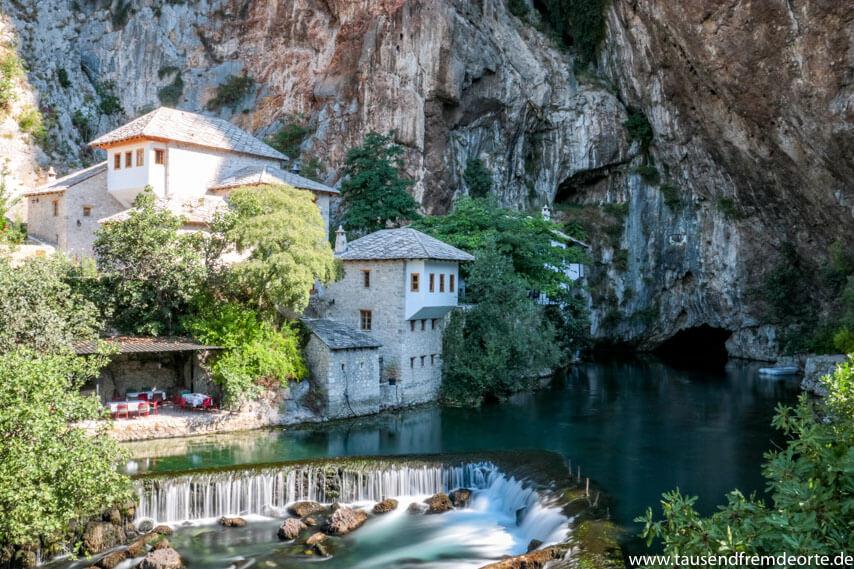 Kloster Blagaj in Bosnien Herzegowina