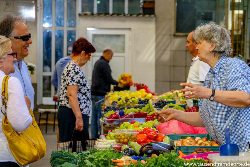 Sarajevo Sehenswürdigkeiten Marktbesuch