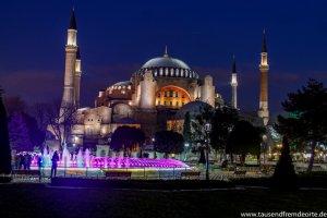 Sultan Ahmed Moschee Istanbul Sehenswürdigkeiten