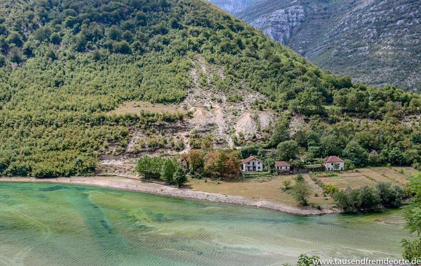 Neretva Tal auf der Strecke nach Mostar