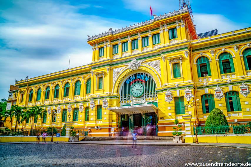 Altes Postamt in Saigon
