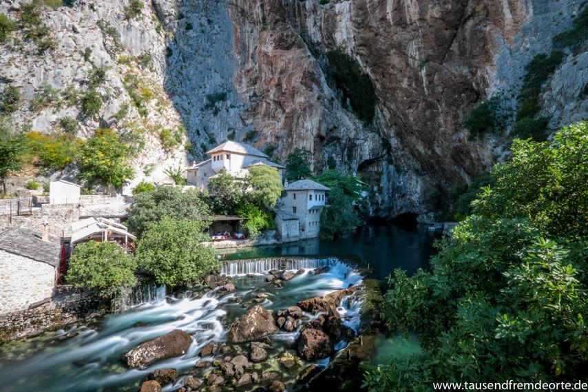 Quelle des Flusses Buna