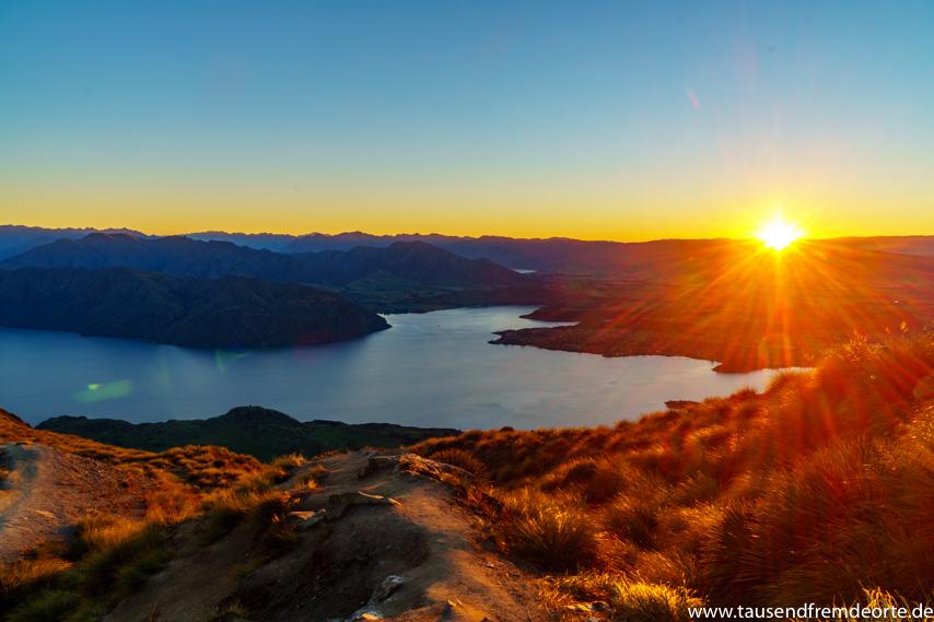 Sonnenaufgang vom Roys Peak