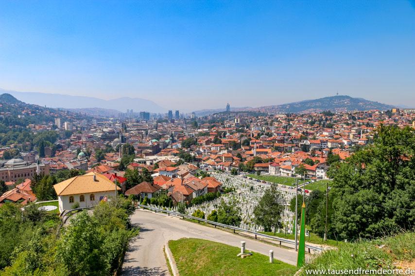 Sarajevo Sehenswürdigkeit Gelbe Bastion
