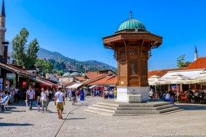 Sarajevo Sehenswürdigkeit Sebilj