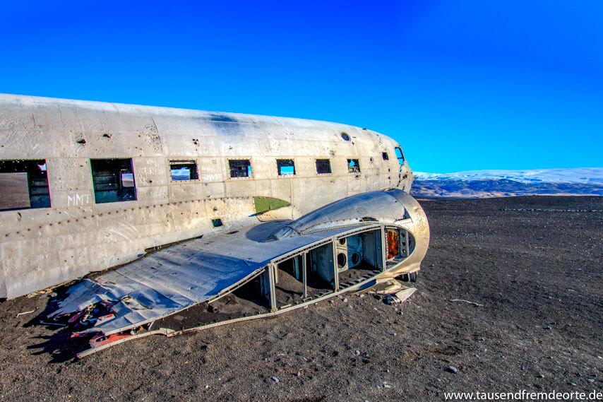 Solheimasandur Flugzeugwrack Island