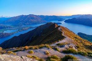 Weg zum Roys Peak Viewpoint
