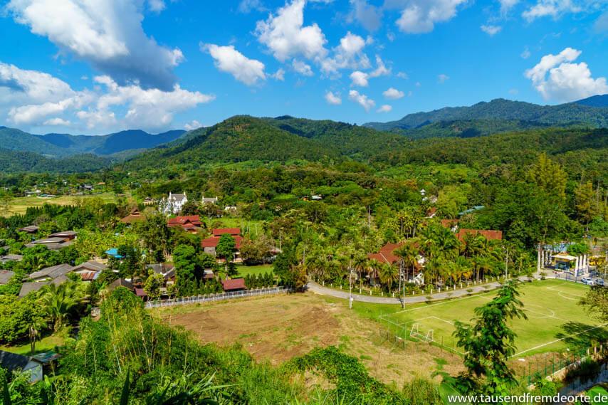 Berglandschaft Chiang Mai