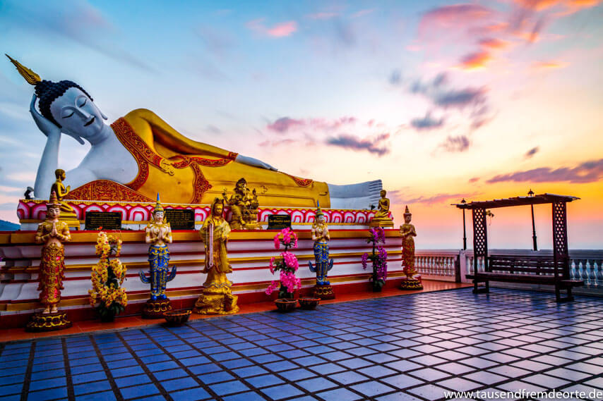 Sonnenaufgang Tempel Chiang Mai