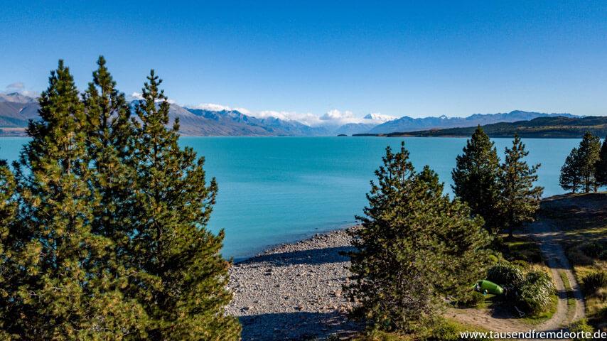 Lake Pukaki von oben