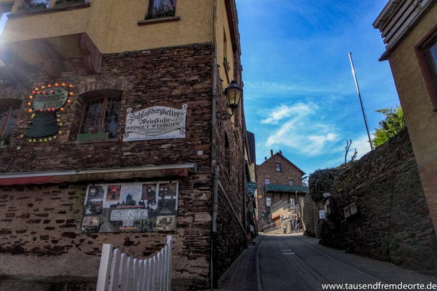 Weg zur Reichsburg Cochem