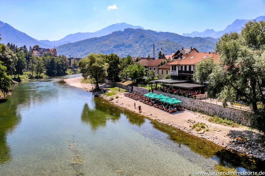 Berge Konjic Neretva River