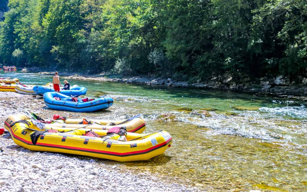 Rafting Tour auf dem Neretva Fluss in Konjic