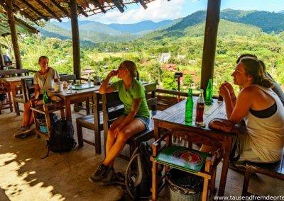 Restaurant mit Aussicht auf dem Samoeng Loop