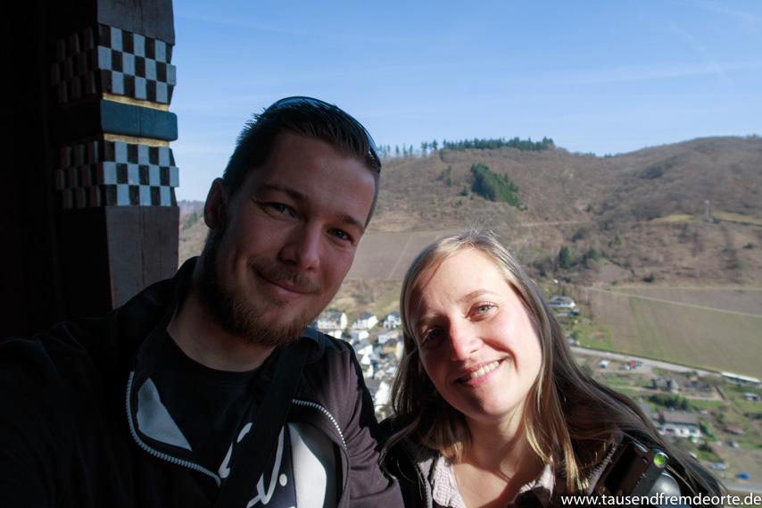 Selfie auf der Reichsburg Cochem